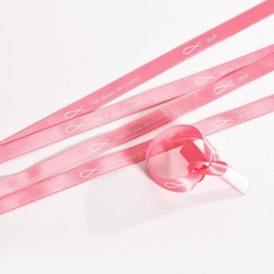 Bracelet satin rose