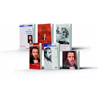 Lot de 6 livres sur Frédéric Ozanam