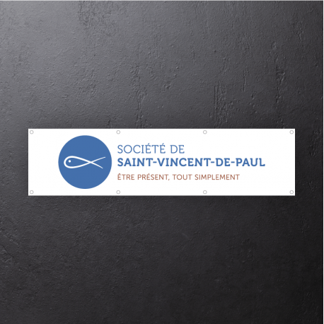 "Bâche ""logo SSVP"""