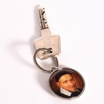 Porte-clés st Vincent de Paul